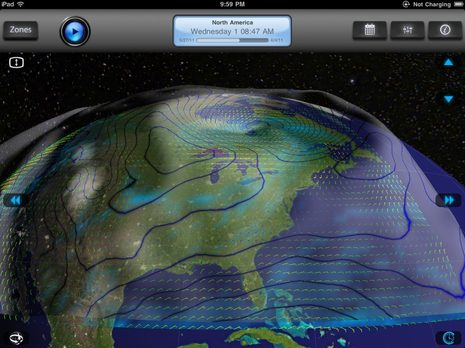 iPad GRIB viewers, Weather4D & WeatherTrack - Panbo