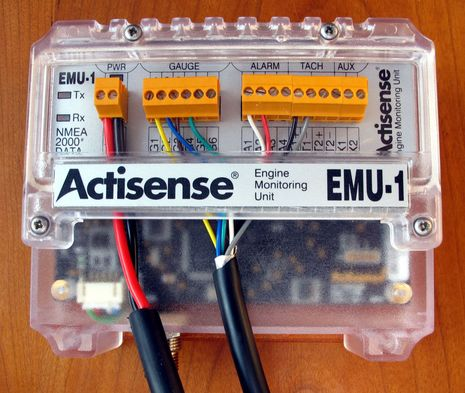 Actisense EMU-1, analog engine gauges to NMEA 2000 happiness