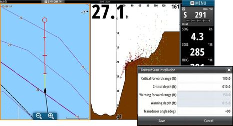 Simrad ForwardScan (B&G too): a breakthrough even in beta