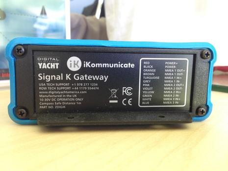 iKommunicate NMEA_2000 Gateway from Digital Yacht