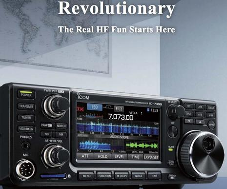 Icom IC-7300 HF Radio