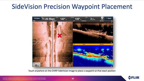 Raymarine Lighthouse r17 Side Vision Waypoint Placement