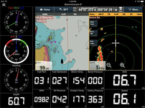 WilhelmSK_iPad_app_running_with_iKommunicate_and_Raymarine_A7_on_Gizmo.jpg