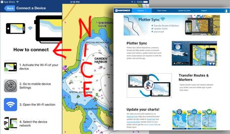 Navionics & Garmin part 1, long live Plotter Sync - Panbo