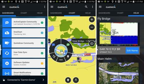 Garmin & Navionics part 2, a close look at ActiveCaptain the