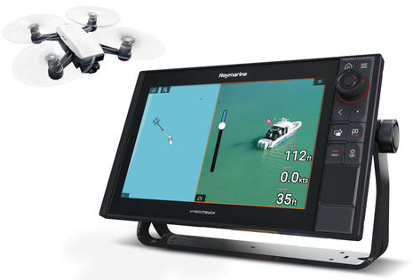 Raymarine MFD apps three ways: from drone control to sat comms to