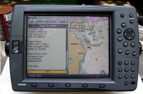 Garmin AIS revisited, a dite dissappointing - Panbo