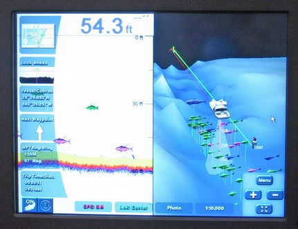Maptech i3 3D fish