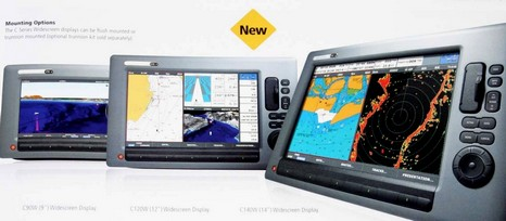 Raymarine C Series Widescreen, really new - Panbo