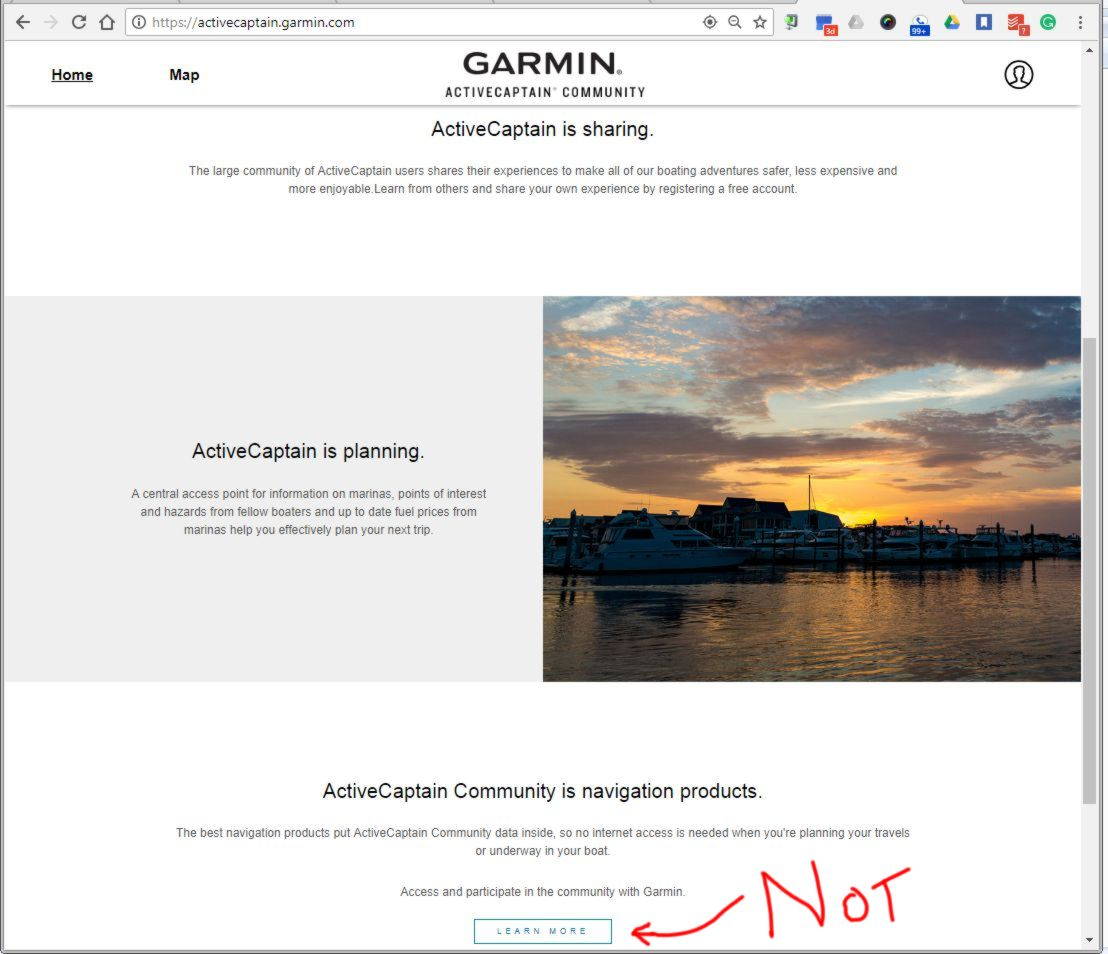 Garmin's new ActiveCaptain Community site, what's good and what's