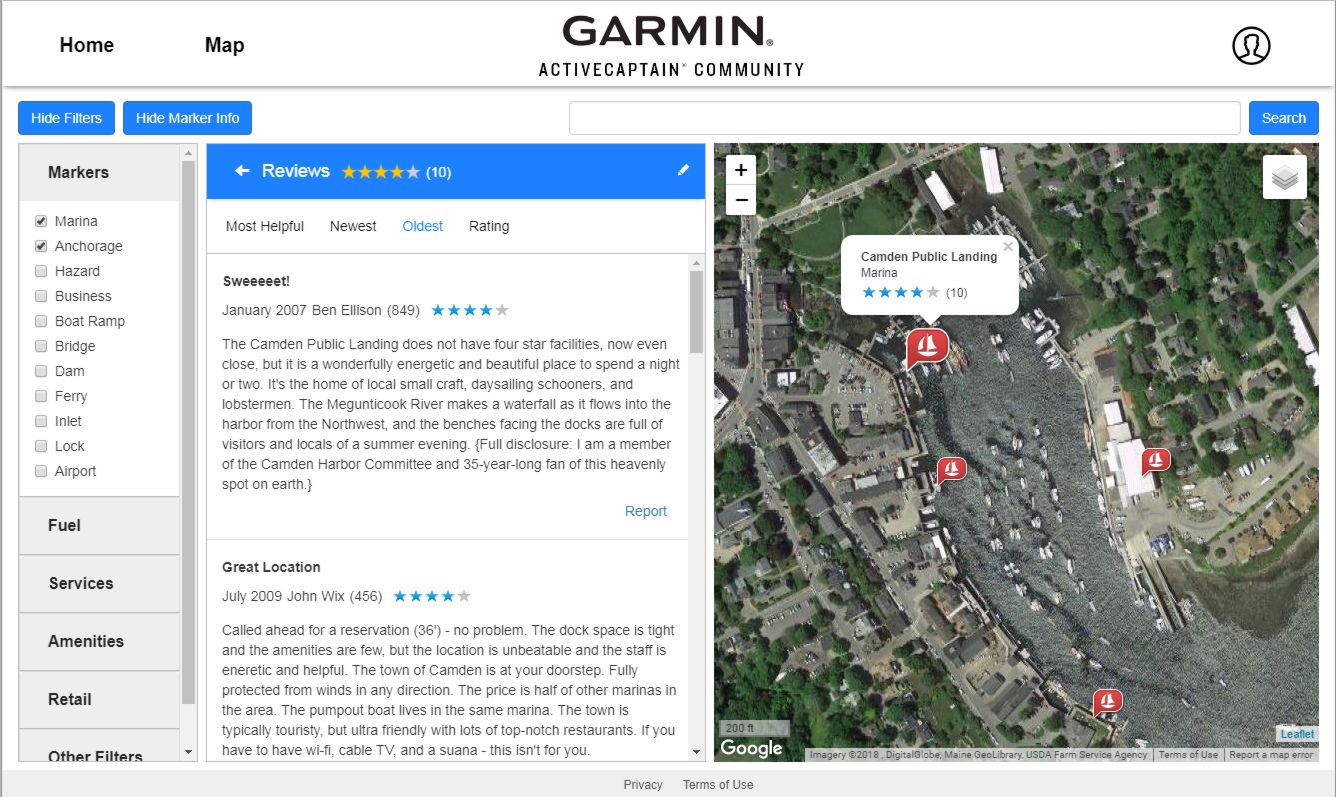 Garmin's new ActiveCaptain Community site, what's good and