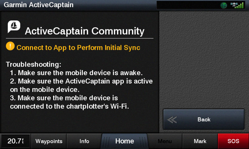 ActiveCaptain Community app support - Panbo