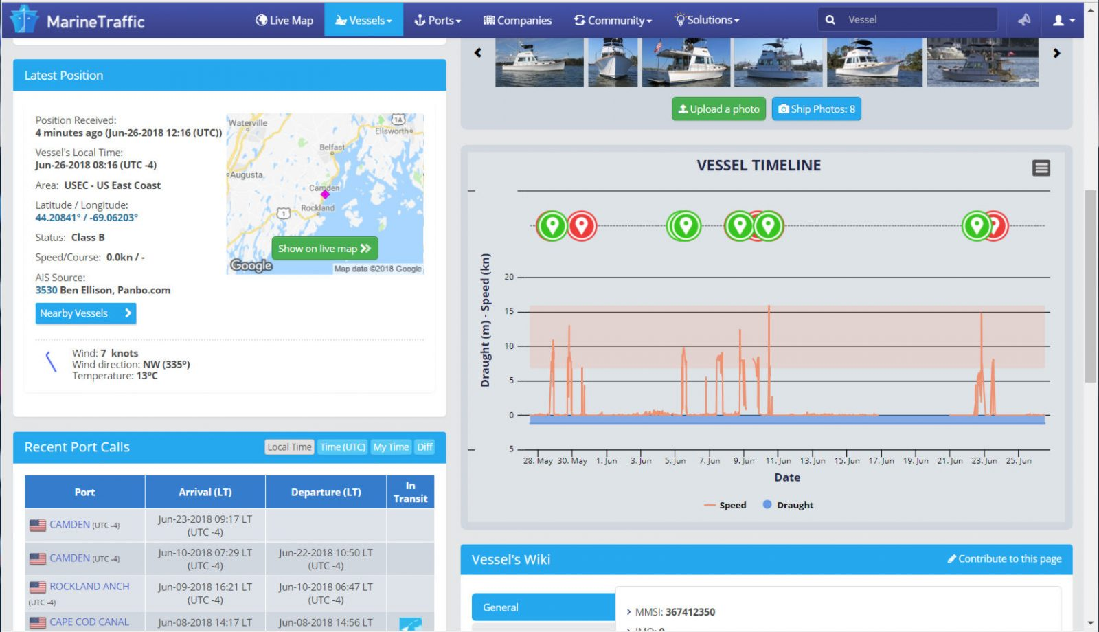 Easy Marine Traffic AIS sharing from your boat, FloatHub is first - Sailfeed
