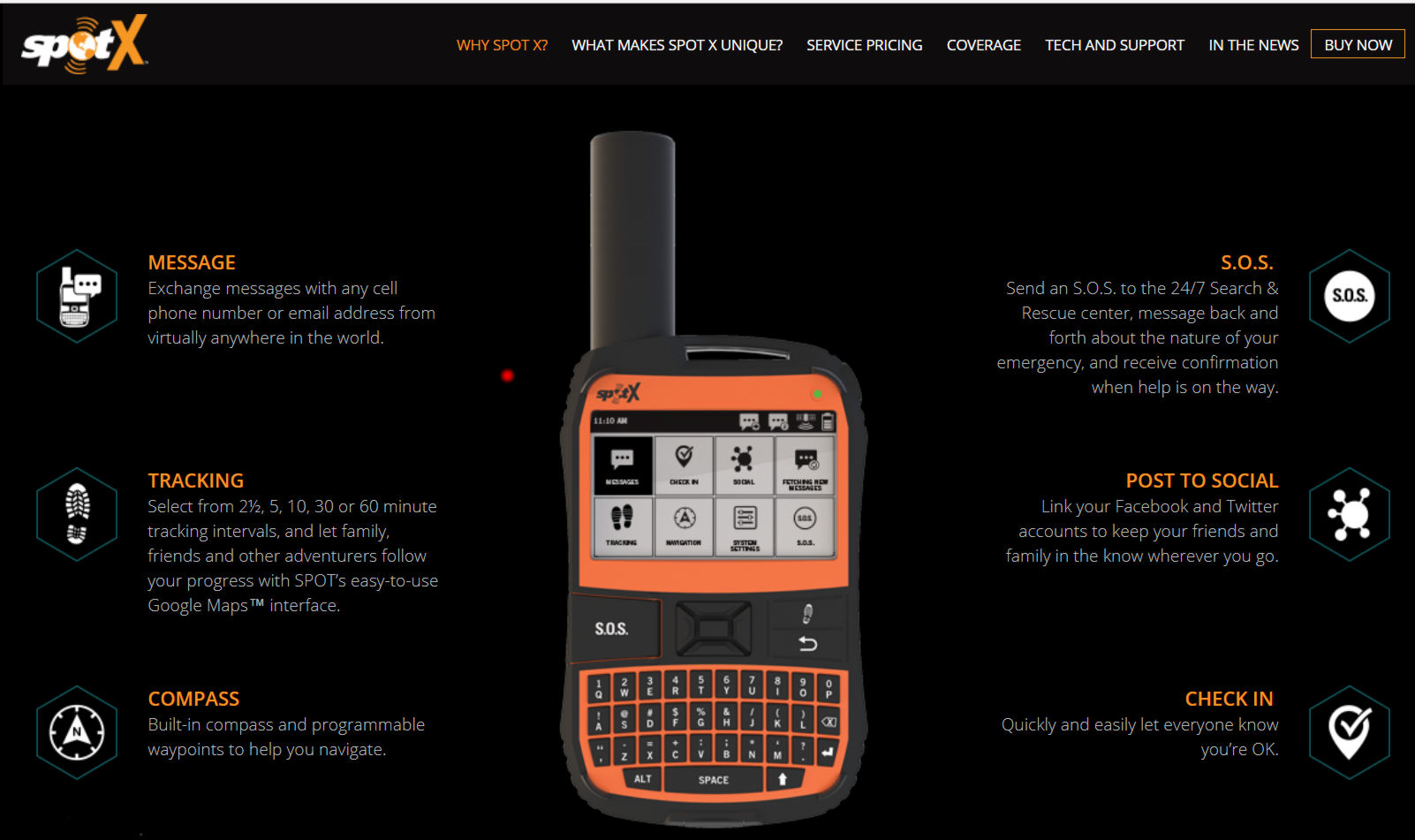 It Can Not Only Do Two Way Messaging Like An InReach But Includes A US Phone Number That