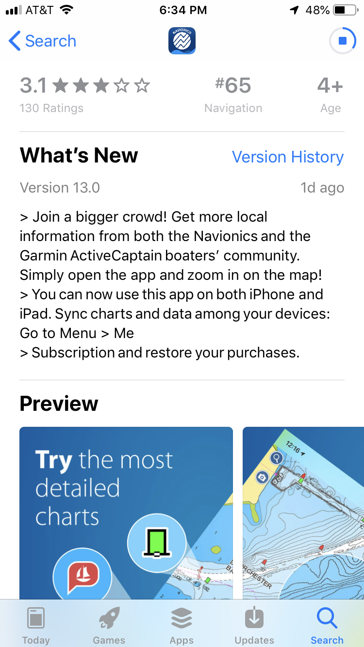 Two Navionics Boating apps add ActiveCaptain Community