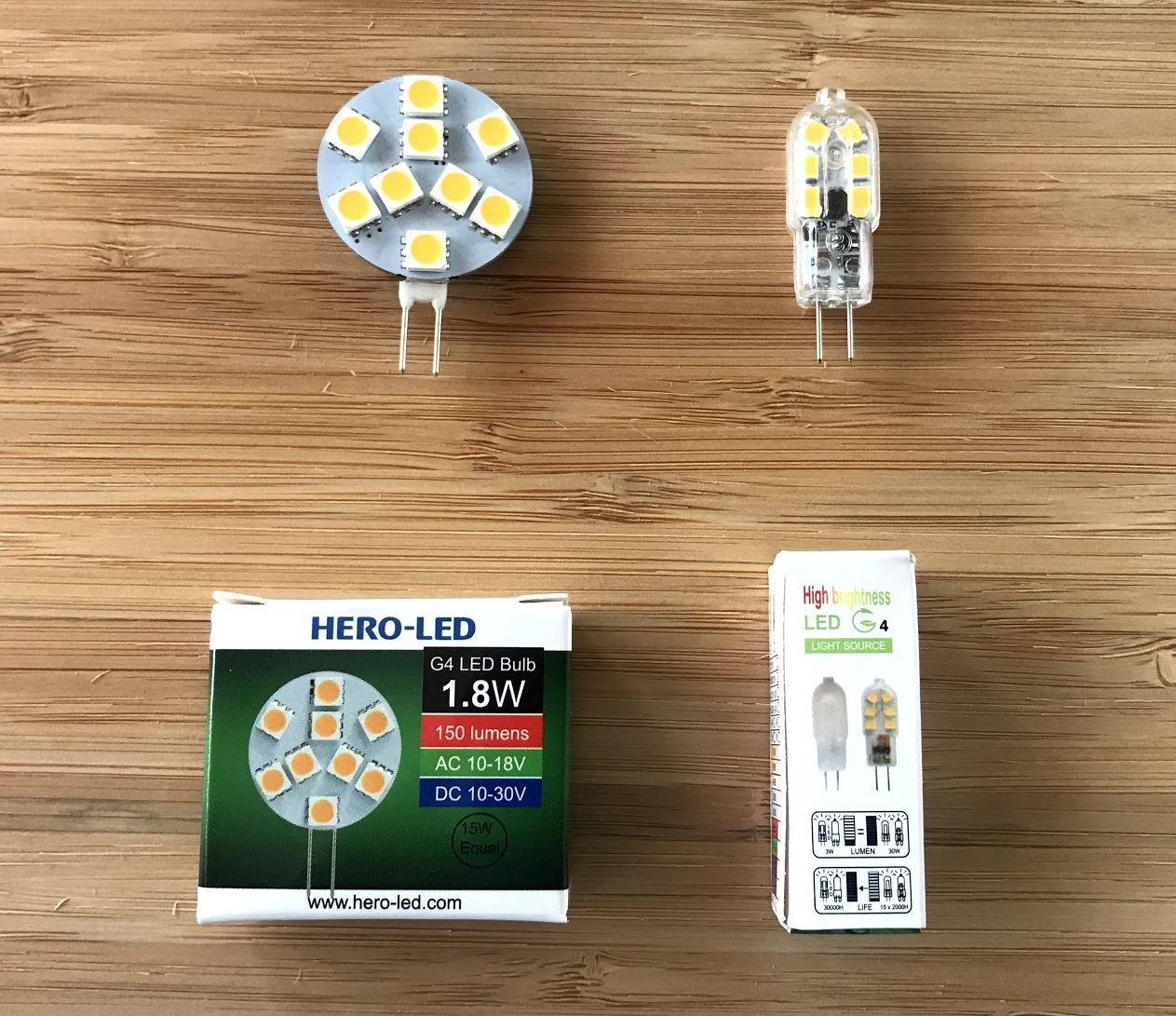 LED replacement bulbs, the options get better and cheaper