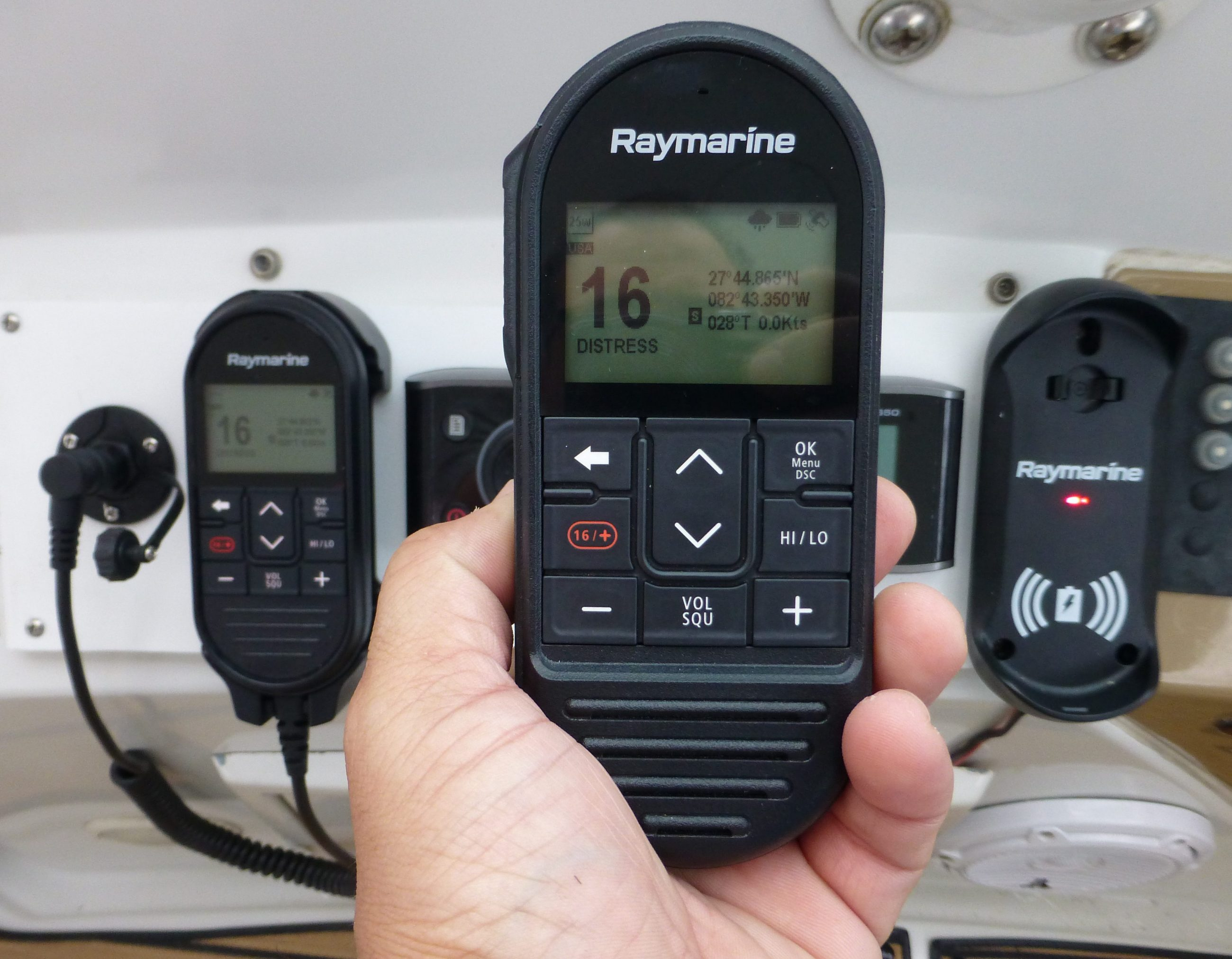 Raymarine Ray90, a full featured black box VHF radio with ... on