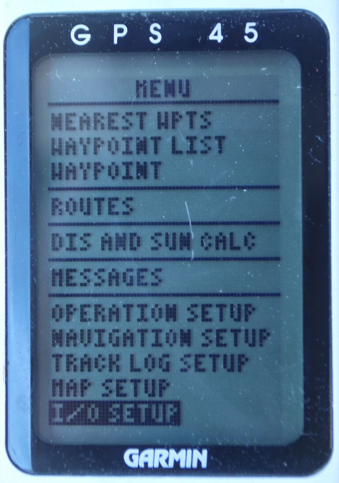 My Garmin GPS 45 was amazing in 1994, and it still works (mostly