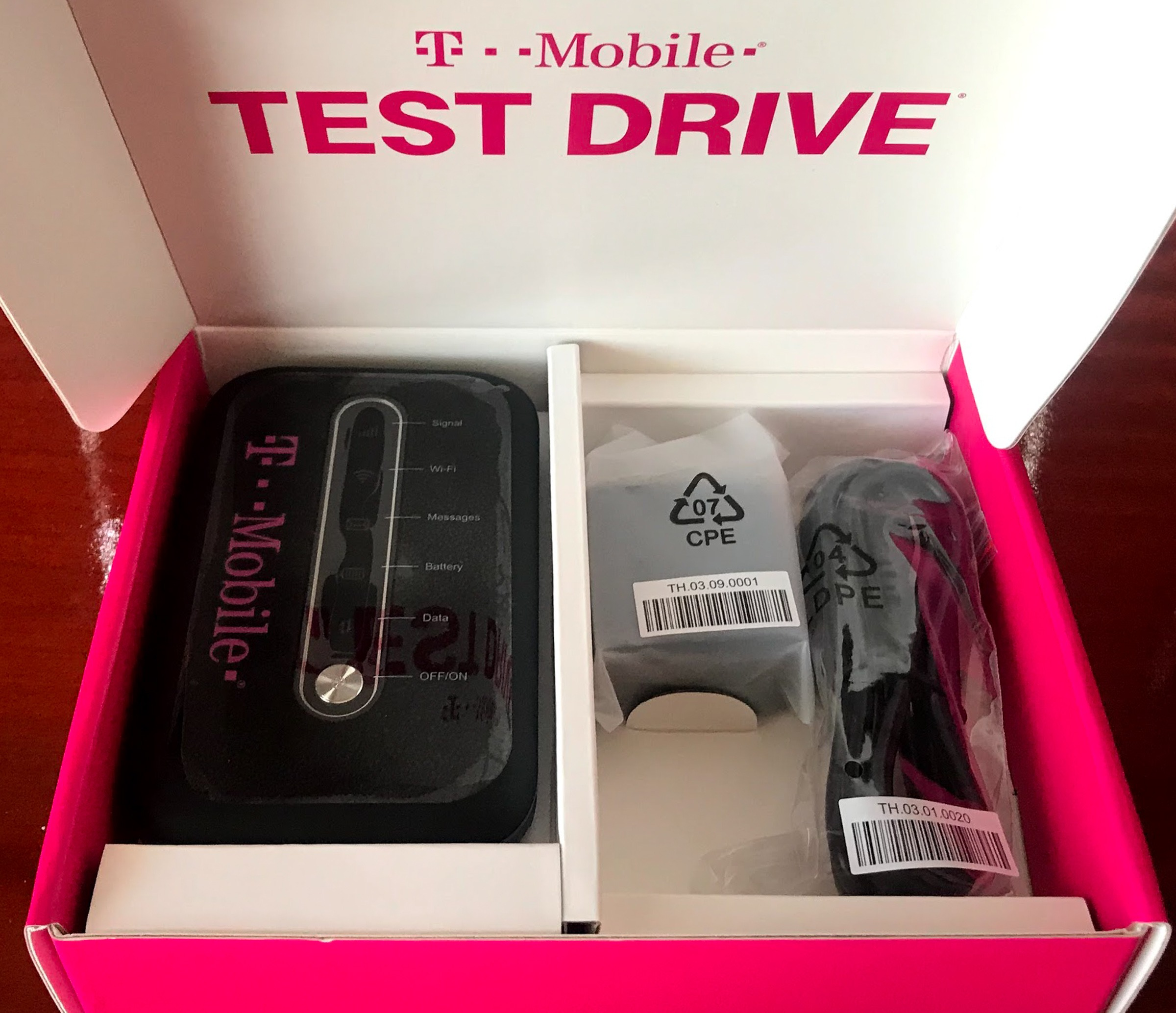 T-Mobile Test Drive, try out T-Mobile's network on them - Panbo