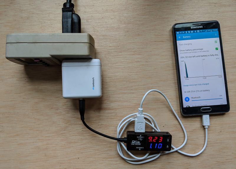 Various types of fast phone charging use higher voltages