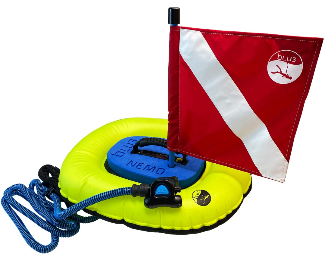 BLU3 Nemo electric surface-supplied diving kit