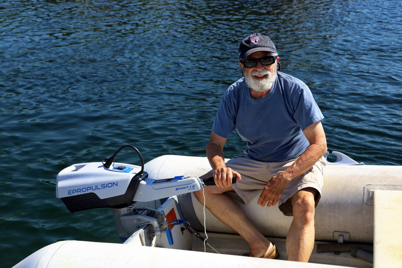 Capt. Richard Itkin is still happy with his Spirit 1.0 Plus four months later